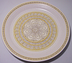 Franciscan Pottery Hacienda Gold Salad Plate