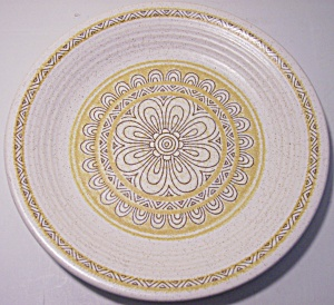 Franciscan Pottery Hacienda Gold Bread Plate