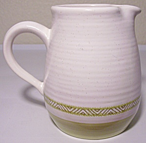 Franciscan Pottery Hacienda Green Creamer