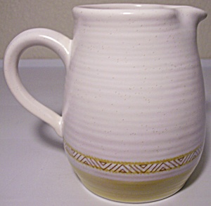 Franciscan Pottery Hacienda Gold Creamer