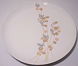 Franciscan Pottery Fan Tan Dinner Plate