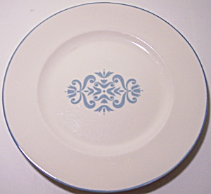 FRANCISCAN POTTERY CHINA MEDALLION BREAD PLATE! (Image1)