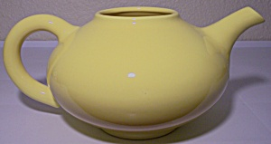 FRANCISCAN POTTERY EL PATIO BRIGHT GLOSS YELLOW TEAPOT! (Image1)