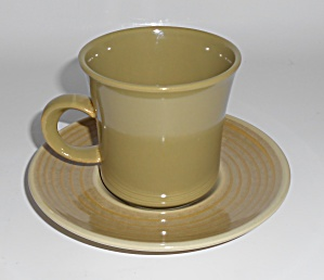 Franciscan Pottery Pebble Beach Cup/saucer Set