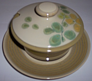 Franciscan Pottery Pebble Beach Gravy W/underplate
