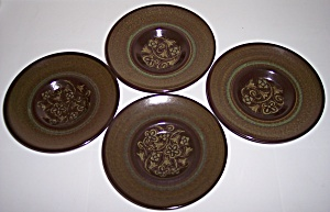 Franciscan Pottery Madeira Set/4 Saucers