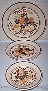 Franciscan Pottery Toffee Salad Plate