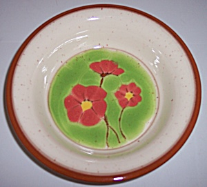 Franciscan Pottery Pepper Poppy Cereal Bowl