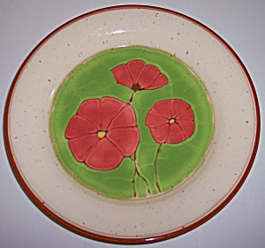 FRANCISCAN POTTERY PEPPER POPPY DINNER PLATE! (Image1)