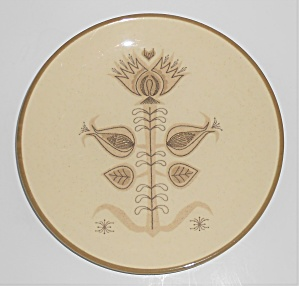 FRANCISCAN POTTERY SPICE SALAD PLATE! (Image1)