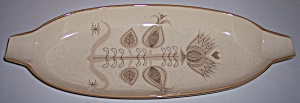 FRANCISCAN POTTERY SPICE VERY RARE BREAD TRAY! (Image1)