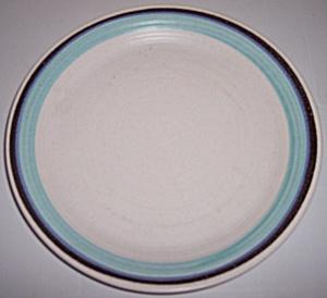 FRANCISCAN POTTERY MALIBU DINNER PLATE (Image1)