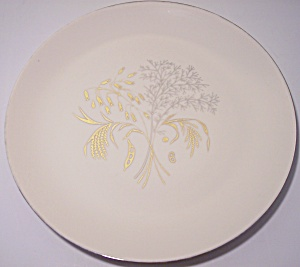 FRANCISCAN POTTERY FINE CHINA WINTER BOUQUET DINNER PLT (Image1)