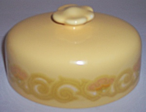 FRANCISCAN POTTERY MIRASOL BUTTER DISH LID! (Image1)