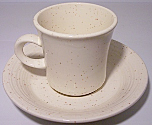 FRANCISCAN POTTERY  COUNTRY CRAFT ALMOND CREAM CUP/SAU (Image1)