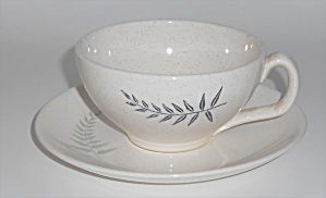 Franciscan Pottery Fern Dell Cup & Saucer Set (Image1)