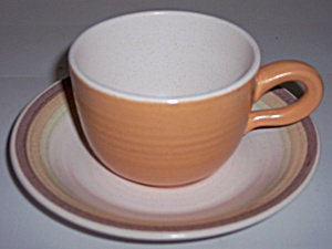 Franciscan Pottery Sierra Sand Cup & Saucer Set (Image1)