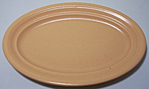 FRANCISCAN POTTERY SIERRA SAND BUTTER DISH BASE! (Image1)