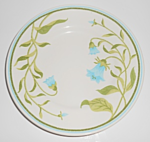 Franciscan Pottery Greenhouse Blue Bell Salad Plate (Image1)