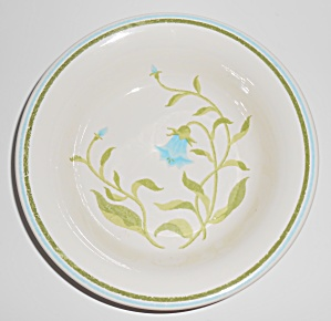 Franciscan Pottery Greenhouse Blue Bell Cereal Bowl (Image1)