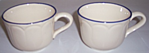 FRANCISCAN POTTERY INTRIGUE PAIR CUPS! (Image1)