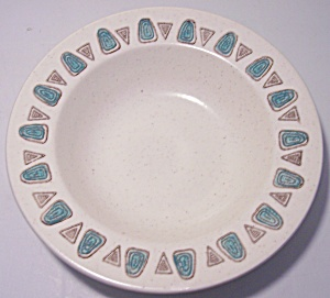 METLOX POTTERY POPPY TRAIL NAVAJO FRUIT BOWL (Image1)