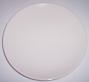 FRANCISCAN POTTERY FLAIR WHITE SALAD PLATE! (Image1)