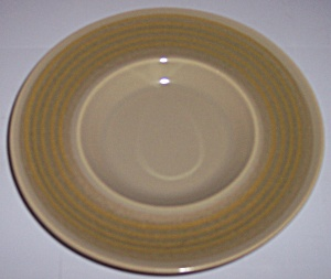 FRANCISCAN POTTERY PEBBLE BEACH GRAVY UNDERPLATE! (Image1)