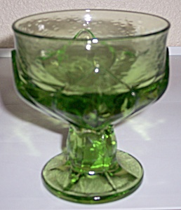 FRANCISCAN POTTERY CRYSTAL CABARET GREEN CHAMPAGNE! (Image1)