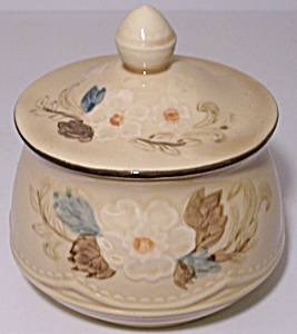 FRANCISCAN POTTERY BOUQUET SUGAR BOWL W/LID! (Image1)