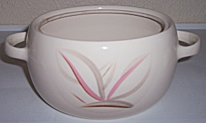 WINFIELD CHINA POTTERY DRAGON FLOWER SMALL CASSEROLE! (Image1)