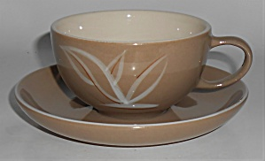 Winfield China Pottery Desert Dawn Cup/saucer Set