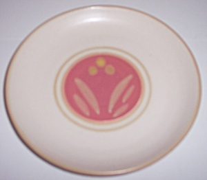 Winfield China Pottery Early Decorated Bread Plate