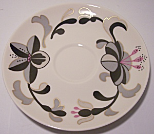 FRANCISCAN POTTERY FINE CHINA CANTON SAUCER! (Image1)