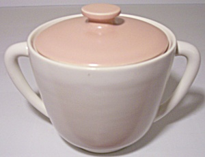 FRANCISCAN POTTERY CATALINA RANCHO DUOTONE SUGAR BOWL! (Image1)