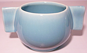 FRANCISCAN POTTERY SPERRY FLOUR GLACIAL BLUE SUGAR BOWL (Image1)