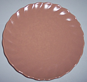 FRANCISCAN POTTERY WISHMAKER CORAL BREAD PLATE! (Image1)