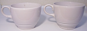 Franciscan Pottery Silkstone Pair Cups