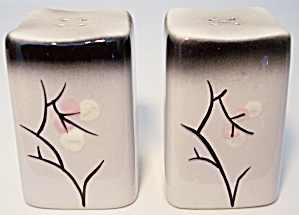 CALIFORNIA CERAMICS ORCHARD WARE MANDALAY SALT/PEPPER! (Image1)