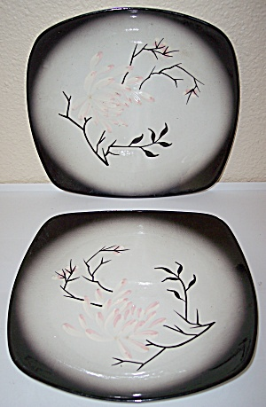 CALIFORNIA CERAMICS ORCHARD WARE MANDALAY DINNER PLATES (Image1)