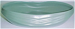 BAUER POTTERY CAL-ART GREEN LOW ART BOWL (Image1)