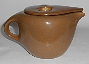 Russel Wright Pottery Casual Nutmeg A.d. Coffee Pot