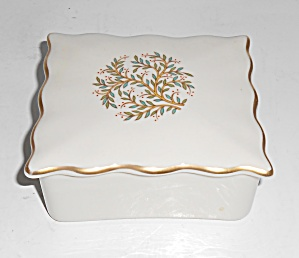 Franciscan Pottery Fine China Fremont Cigarette Box