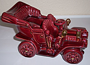 Metlox Pottery Poppy Trail Merrie Oldsmobile Planter