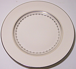FRANCISCAN POTTERY MASTERPIECE ARABESQUE BREAD PLATE! (Image1)