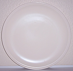 Franciscan Pottery Montecito Satin Ivory Lg Chop Plate
