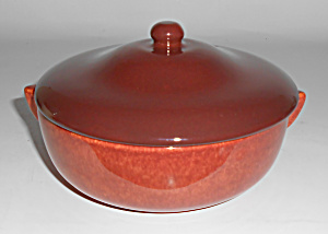 Franciscan Pottery El Patio Early Soup Bowl W/lid