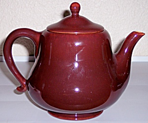 Franciscan Pottery El Patio Rare Redwood #33 Teapot