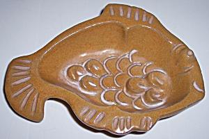 PACIFIC STONEWARE BENNETT WELSH CHARMWICK FISH BOWL! (Image1)