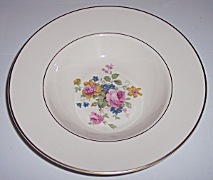 PICKARD CHINA MARGUERITE RIMMED SOUP BOWL! (Image1)